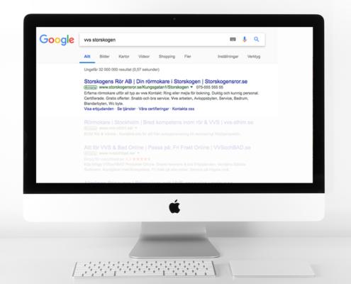 Så ser en google ad ut