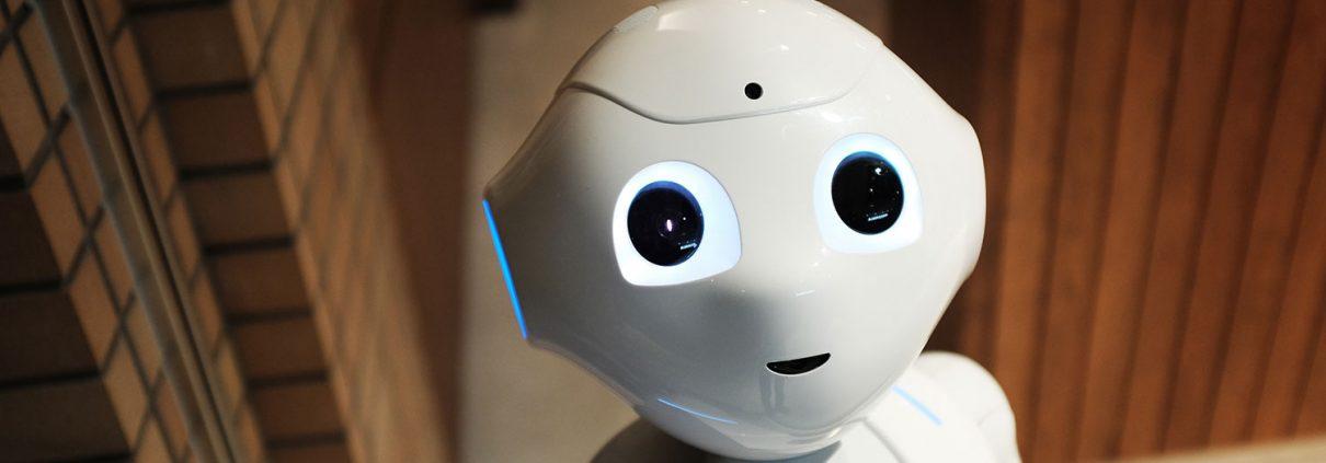 En robot på cyber monday
