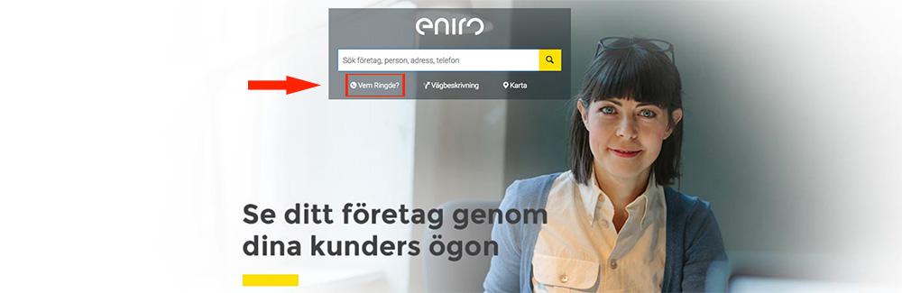 Vem ringde Eniro