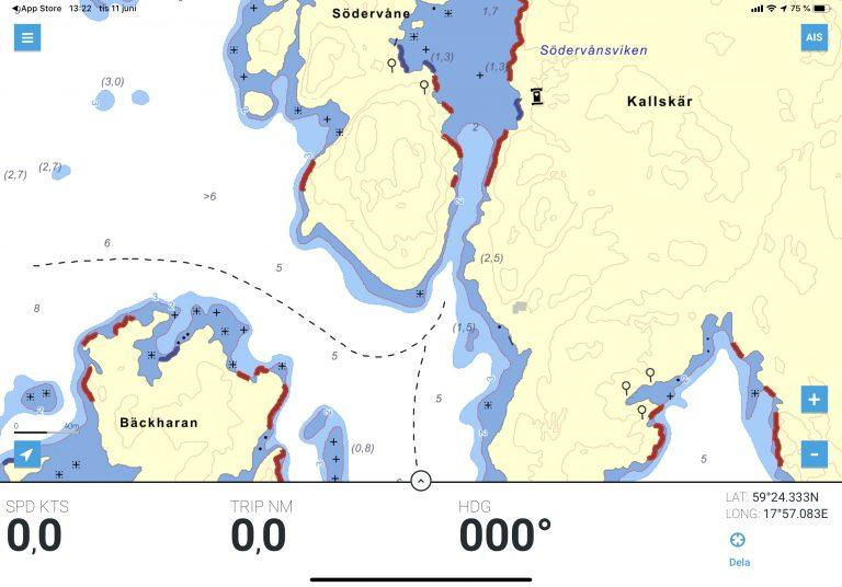 Detaljerad hamndata från Hydrographica och Eniro