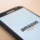 Amazons startsida på en Samsung Galaxy-skärm