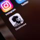 Clubhouse-appen på mobil